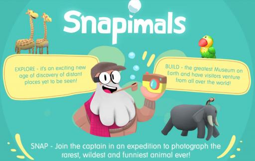 Snapimals voor iOS.