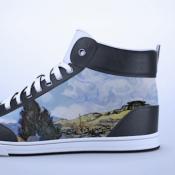 Deze sneakers met E-Ink schermen versier je met een iPhone-app