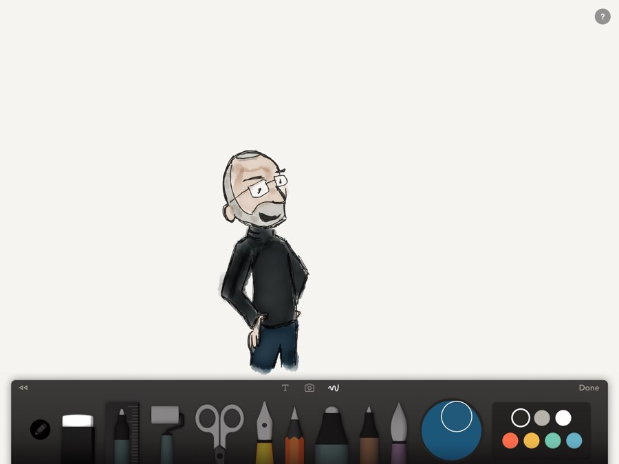apple-pencil-steve-jobs-paper-poppetje