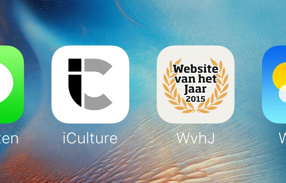 Website van het Jaar iCulture