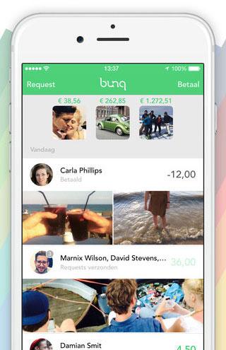 bunq bank: verzoeken om betaling