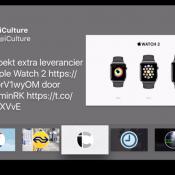 Airfeed for Twitter voor de Apple TV.