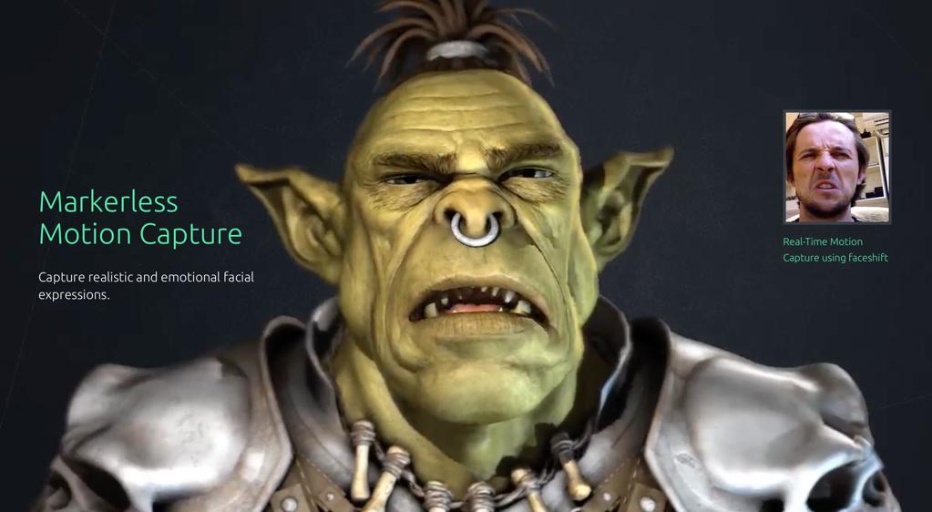 Faceshift overgenomen door Apple.