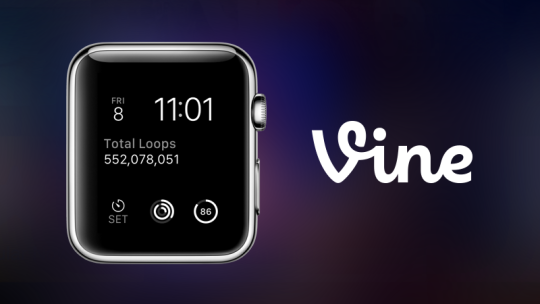 Vine Apple Watch complicatie