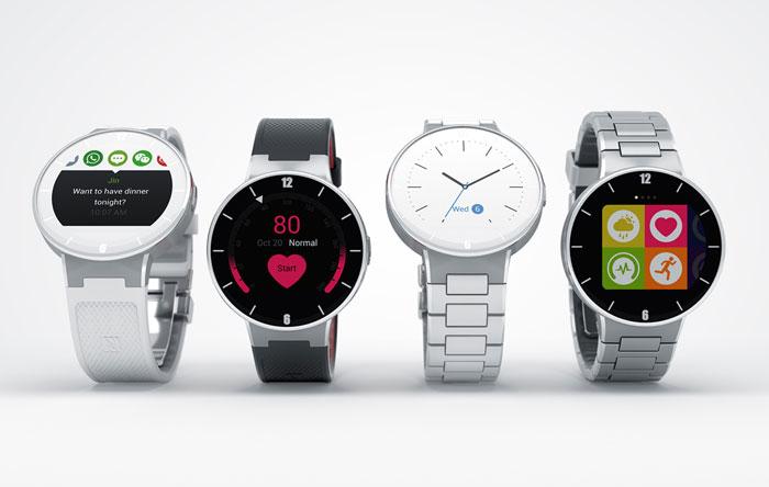 Alcatel OneTouch Watch: 4 verschillende modellen.