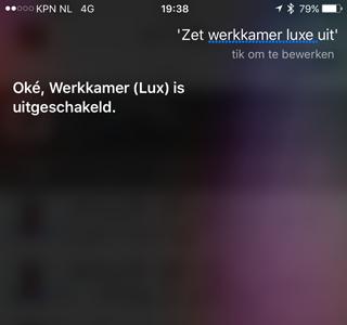 Philips Hue met Siri