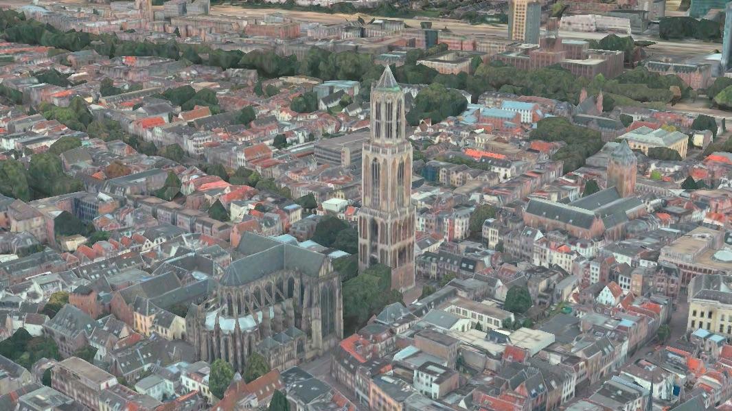 Utrecht in 3D.