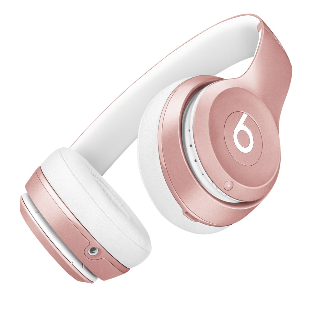 Beats Solo 2 Wireless in roségoud.