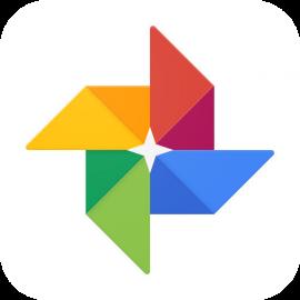 Google Foto's icoon.