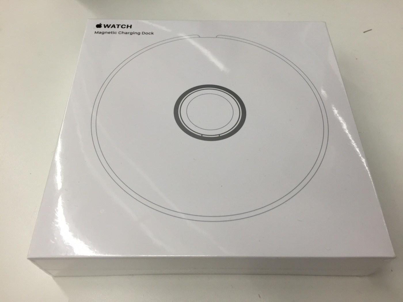 Apple Watch dock verpakking voorkant