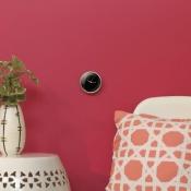 Nest thermostaat met analoge klok