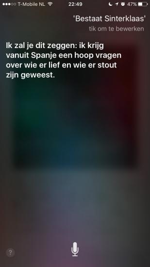Siri en Sinterklaas