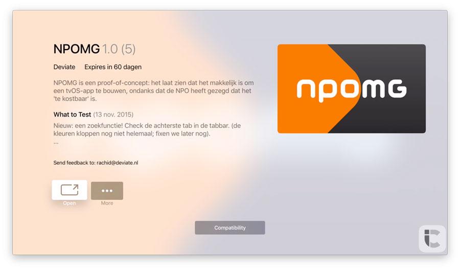 NPOMG TestFlight