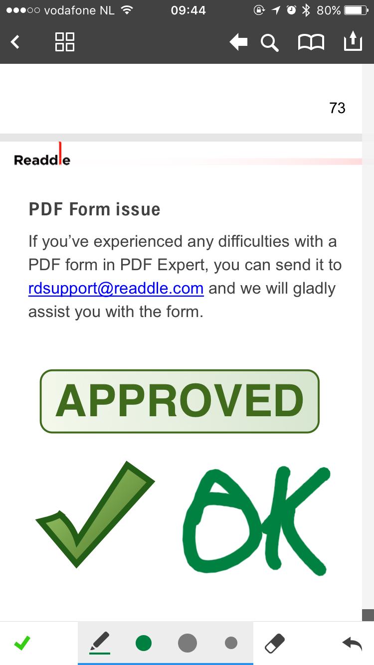 PDF Expert 5 voor iOS.