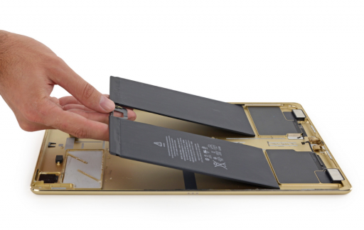 iPad Pro-batterijen.