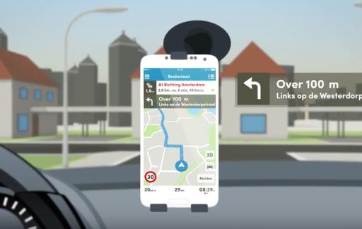 Routeradar heeft nu gesproken navigatie.