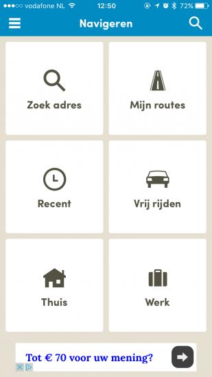 Routeradar heeft nu ook gesproken navigatie.