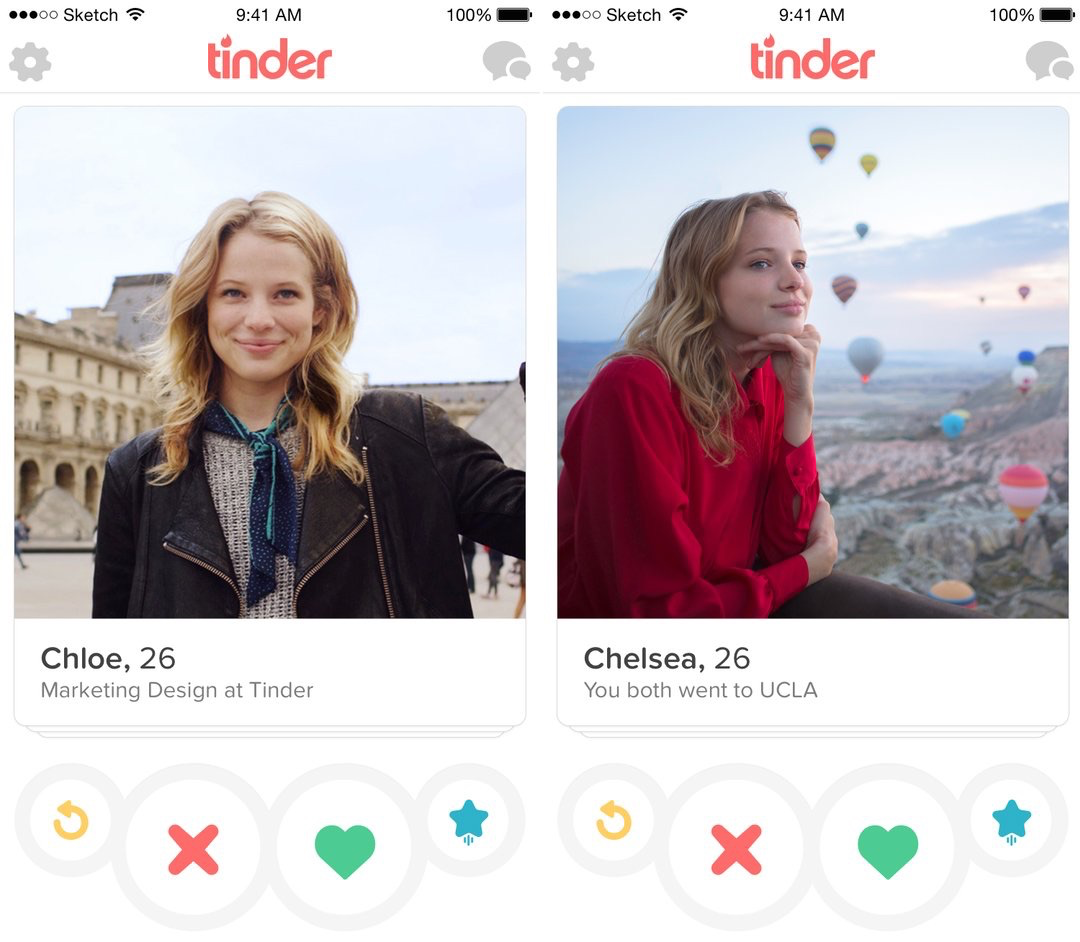 Voeg je werk en opleiding toe aan Tinder.