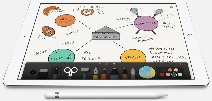 Apple Pencil: tekeningen maken