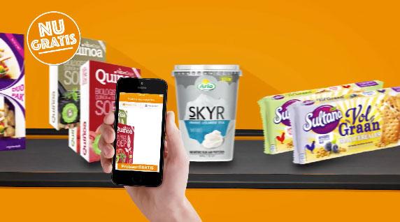 Scoupy app: cashback bij producten