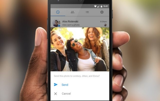 Facebook Messenger gezichtsherkenning