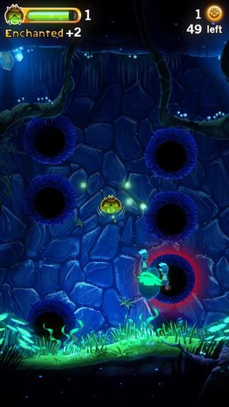 Cave Dash voor iPhone.