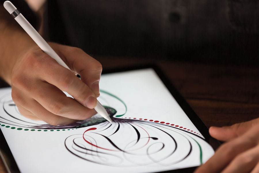 iPad Pro tekenen met de Apple Pencil