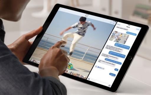 iPad Pro splitscreen weergave