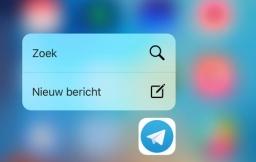 Telegram 3D Touch