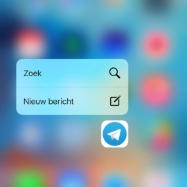 Telegram 3D Touch