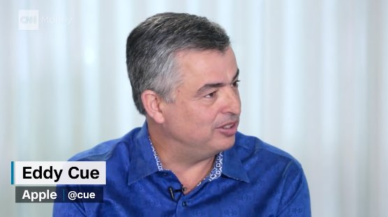 Eddy Cue, interview met CNN