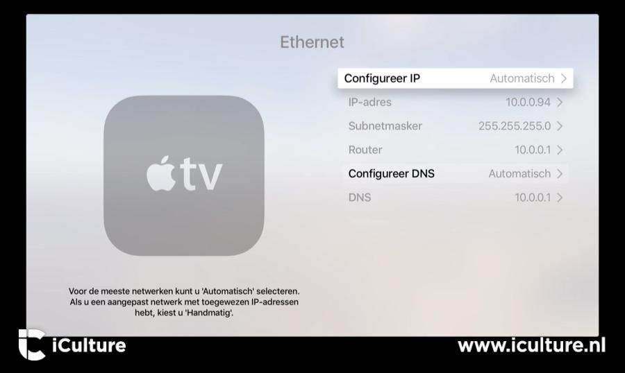 Apple Tv Internetinstellingen Aanpassen En Wi Fi Controleren