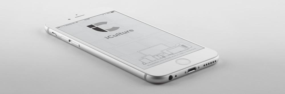 iCulture app| splashscreen (vertical)
