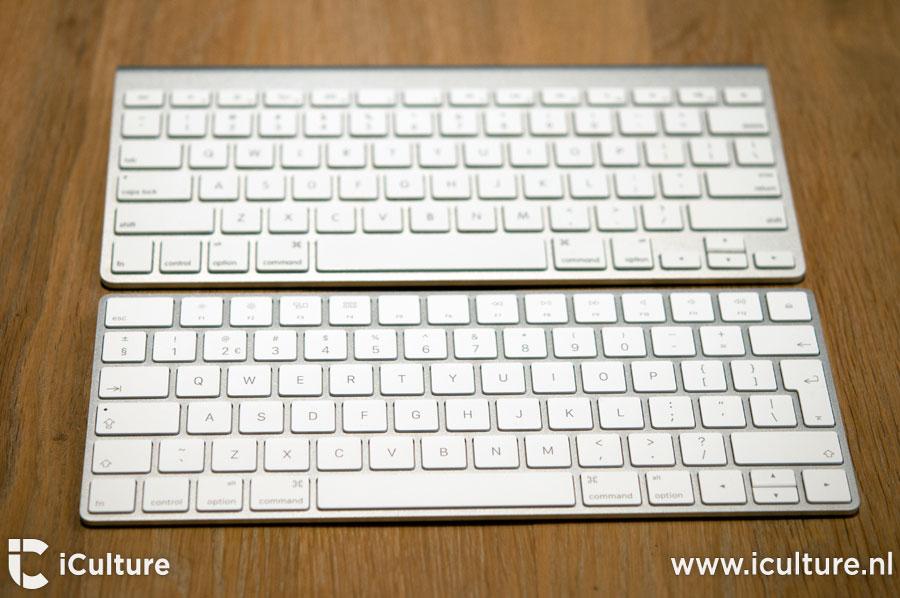 Magic Keyboard 2 review: oude en nieuwe toetsenbord naast elkaar