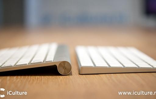 Magic Keyboard 2 review: oude en nieuwe toetsenbord dikte vergeleken