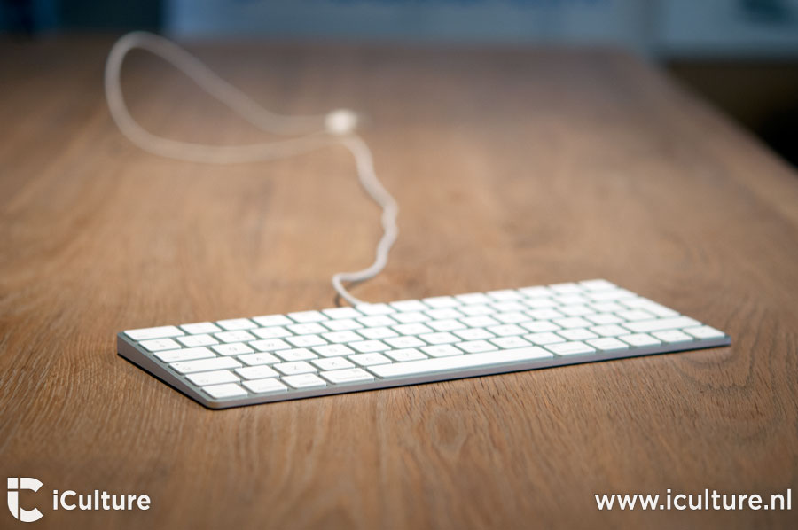 Magic Keyboard 2 review: toetsenbord met aangesloten kabel