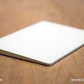 Apple Trackpad 2 review: trackpad van de zijkant gezien