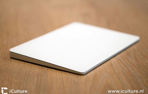 Apple Trackpad 2 review: trackpad van de zijkant gezien