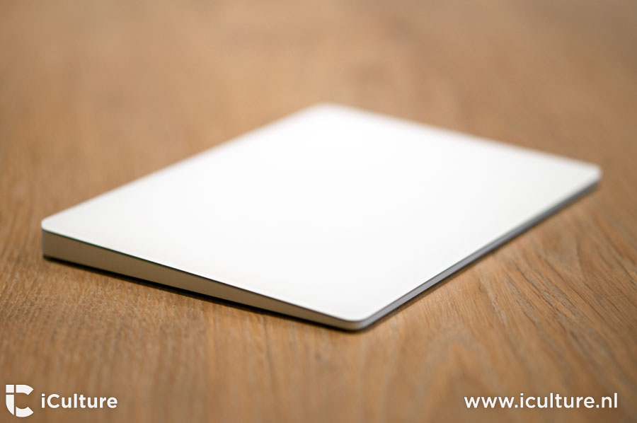 Magic Trackpad 2 review: trackpad van de zijkant gezien