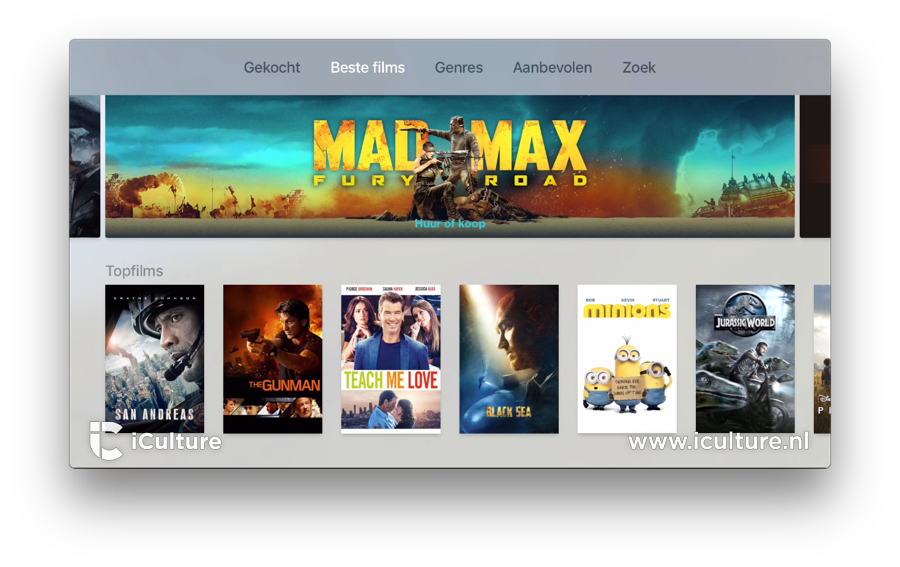 Apple TV: films beoordelen