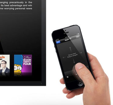 Apple TV remote-app