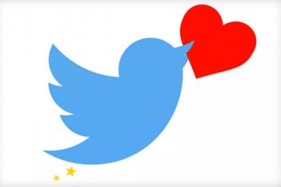 Twitter verandert sterretjes in hartjes.