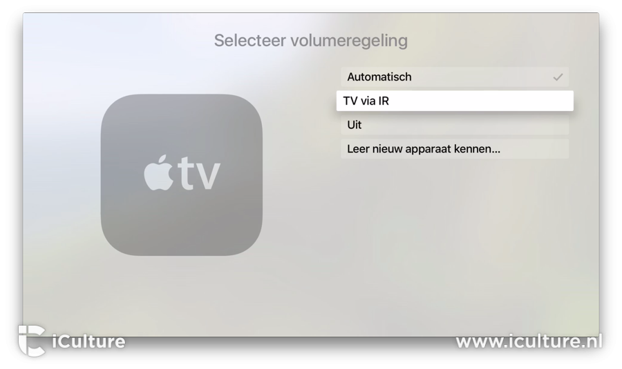 Apple-TV-Afstandsbediening