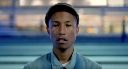 Pharrell Williams met Freedom.
