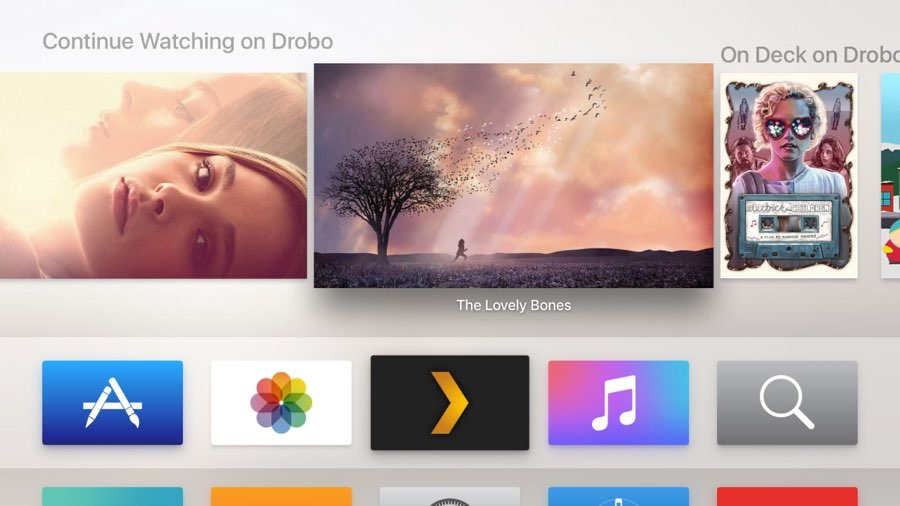 Plex op Apple TV: de app