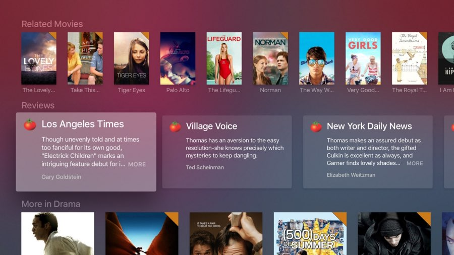 Plex op Apple TV: gerelateerde films