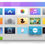 Apps verwijderen van Apple TV via homescreen
