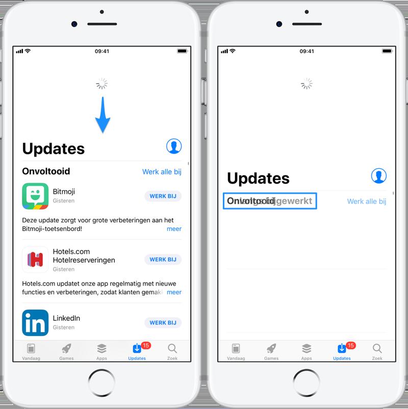 App Store updaten