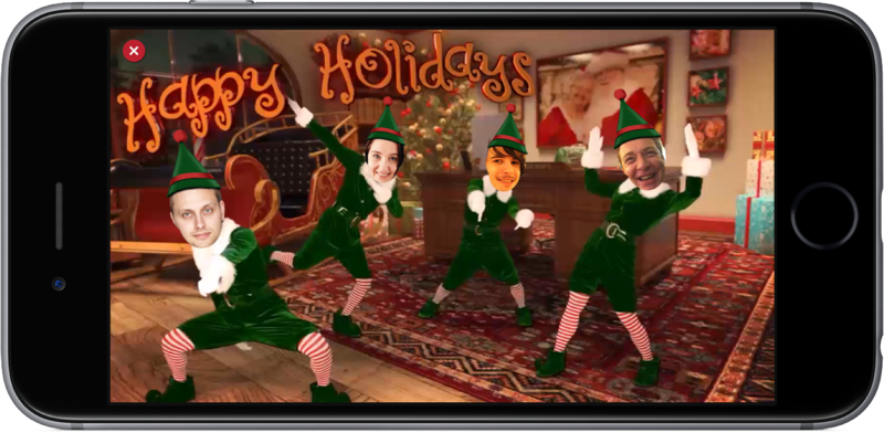 Elf Yourself in 2016.