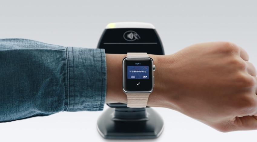 Apple Pay gebruiken met een Apple Watch.